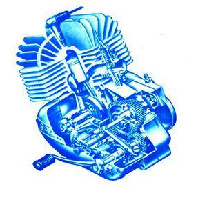 Elektroniskt tändsystem 12v Sachs 50S