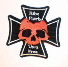 Patch  Ride Hard Live Free