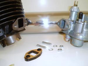 Complete 50 cc, 4,3  Ps Sachs Tuning-kit 2 gear