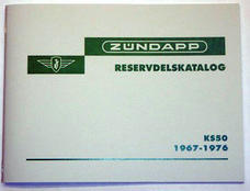 Spare part catalog Zündapp KS50 1967-1976