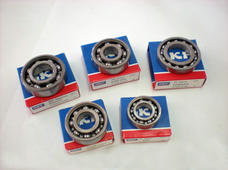 Ball bearing set Zündapp 4 speed SKF