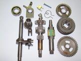 Conversion Kit Husqvarna Flinta 2gear To 3gear Foot NOS