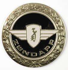 Tank plaque , Zundapp.