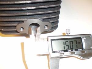 Husqvarna Flinta trimsats med steg 1 portad exportcylinder