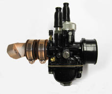 Carburetor kit, Dellorto, Black Racing Zundapp