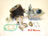 60cc (small) Mini Tuning kit, cylinder Sachs 4,8 ps  2-3 speed handshift
