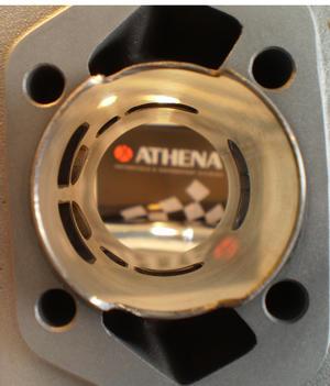 70cc Athena Supertherm, Trimkit kvalite, Race avgassystem