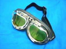 Goggles yellow glass