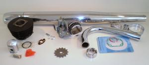 Complete 60 cc, 4,3+ Ps Sachs Tuning-kit, 3-4gear (LKH)