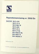 Repair instructions Sachs (Swedish)
