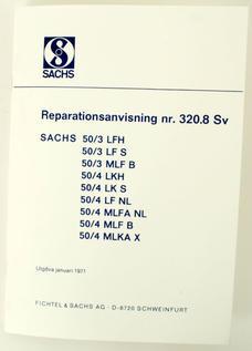 Reparationsanvisningar Sachs