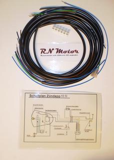 Wiring harness  Zundapp GTS50/KS50 517-35LA