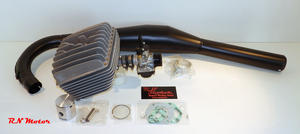 70cc Athena Supertherm High quality tuning kit, Race exhaust