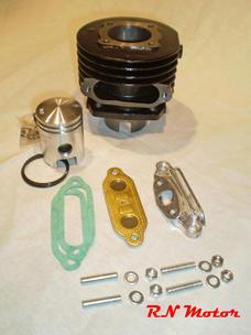 Membran Cylinder sats Sachs 38mm komplett