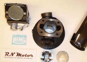 Sachs High quality 60 cc, 4,3+ Ps Sachs Tuning-kit, 3-4 speed