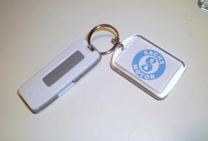 USB med Nyckelring Sachs 830 mb