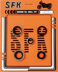 Gasket seal set 4 & 5 speed Zündapp